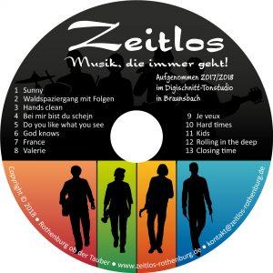 Zeitlos-CD (2017/2018 im Studio Braunsbach)